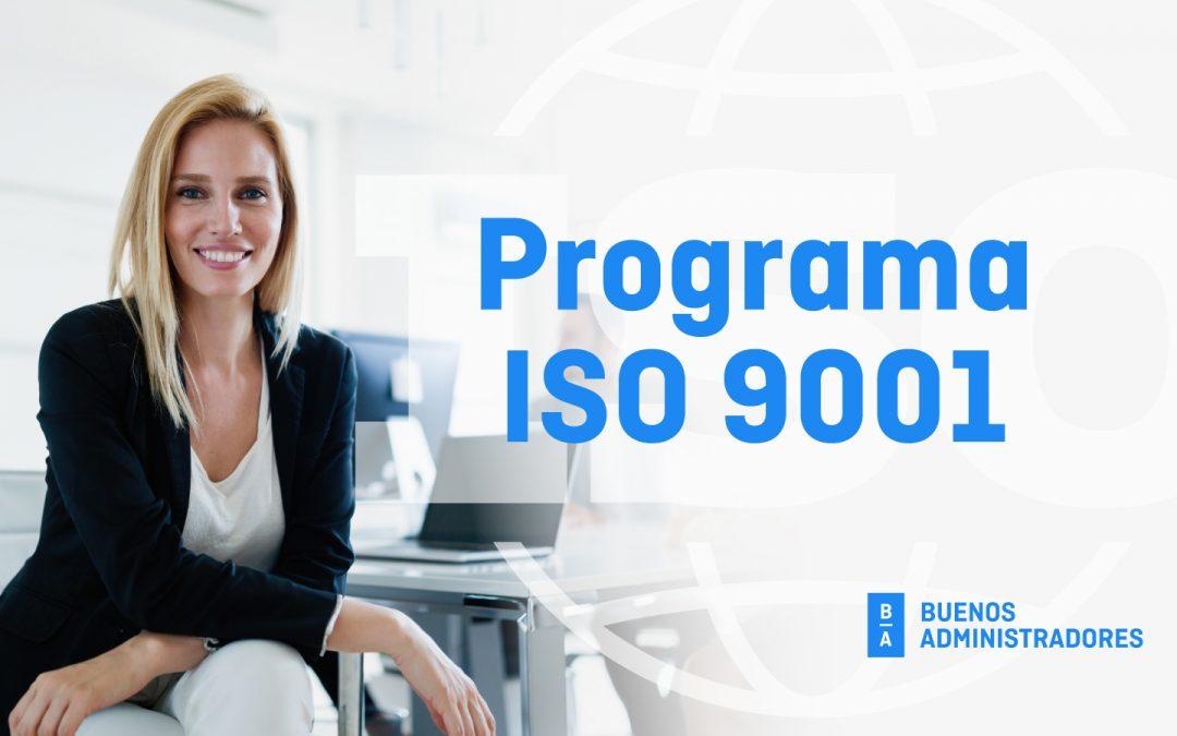 Lanzamiento Programa ISO 9001 para administradores